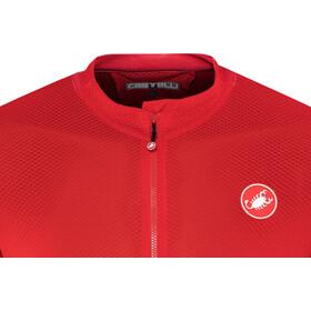 Castelli Volata 2 FZ Jersey Herren red/black